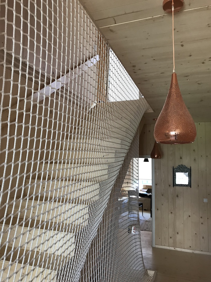 Kupfer Netz Holz